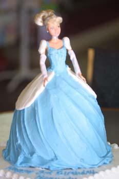 birthday cinderella doll