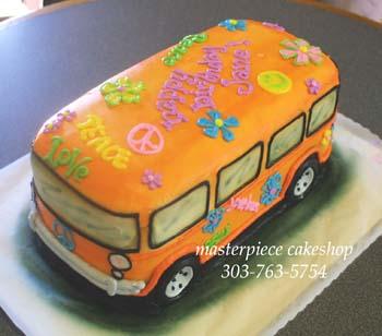 birthday hippie bus