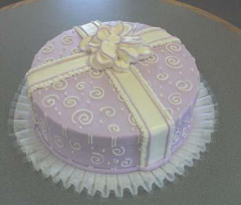 lavendar hatbox