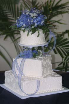 wedding blue lace ribbon