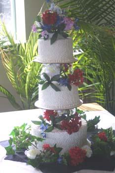 wedding entwined lattice