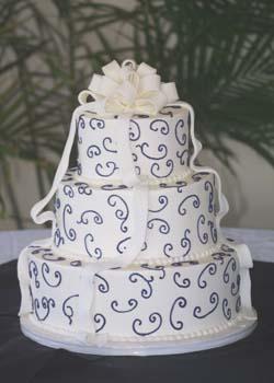 wedding fondant bow 2